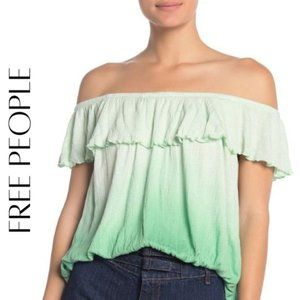 FREE PEOPLE Cora Lee Off The Shoulder Top, NWT!